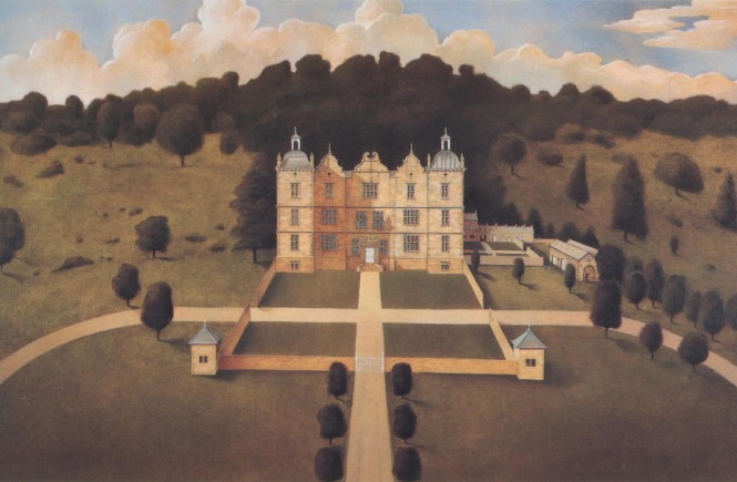 Plas Teg by Jonathan Myles Lea, the picture that launched his illustrious career.